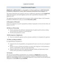 Template For A Memorandum Of Understanding by Memorandum Of Understanding How To Write