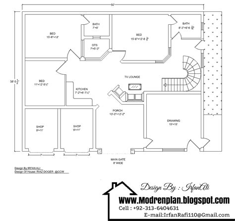 home design for 7 marla 7 marla house drawing 50 215 38 drawing with detail