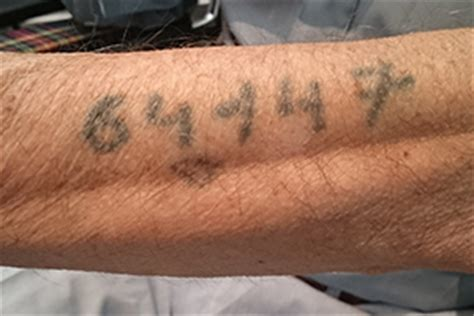 tattoo numbers auschwitz george ginzburg s escape from auschwitz the new daily