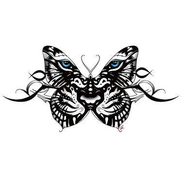 tribal tattoos meaning new beginning tiger butterfly design designs