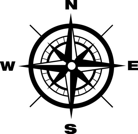 Direction Compass Compass With Earth Cardinal Points Directions Svg Png Icon