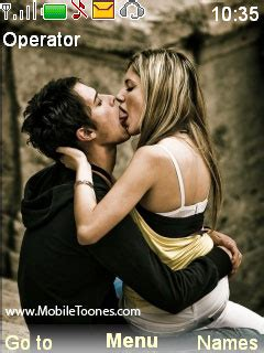 nokia themes kiss download hot couples kiss nokia theme mobile toones