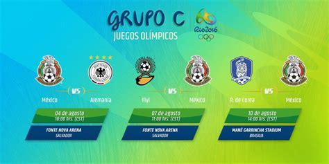 El Tri De Mexico Futbol Calendario 191 D 243 Nde Y A Qu 233 Hora Jugar 225 El Tri En Los Juegos Ol 237 Mpicos
