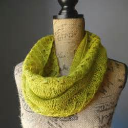 How To Knit Infinity Scarf Lace Infinity Scarf Allfreeknitting
