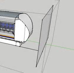Drape Sketchup Projecting A Curved Surface Onto A Flat Plane Sketchup