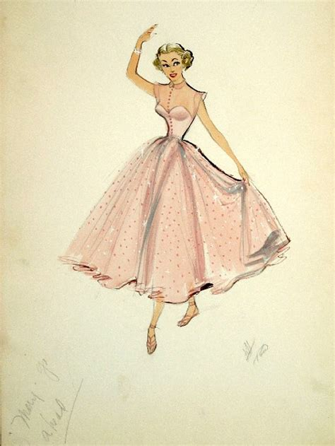 retro drawing vintage dress sketches designs www imgkid com the