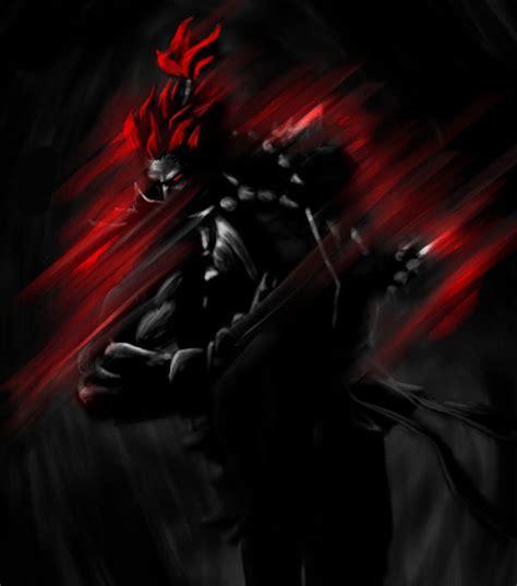 Fighter Akuma Black tributo a fighter con 55 artworks
