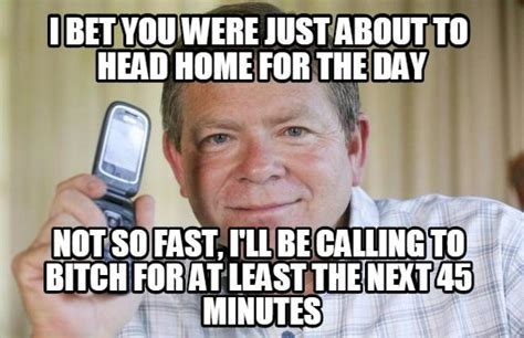 Phone Call Home Meme - if you work or have worked in a call center these