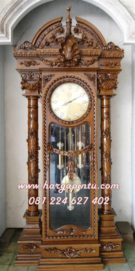 Jam Hias Ukir Jati Jam Hias Lemari Hias Cermin Pigura harga jam hias brawijaya model lemari jam kayu jati