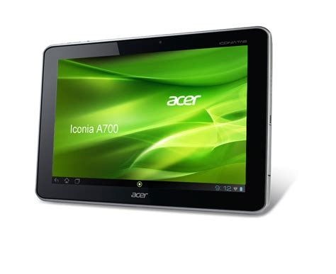 Tablet Iconia Acer review acer iconia tab a700 tablet notebookcheck net reviews