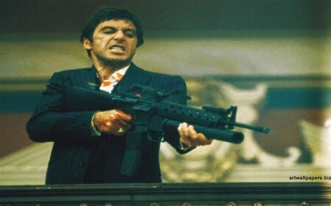 scarface wallpaper hd  wallpapersafari