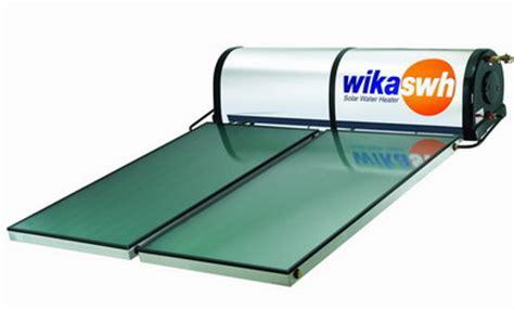 Water Heater Matahari energi matahari yang termasuk kedalam kategori energi non