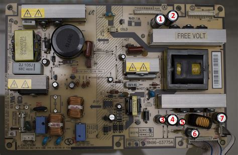 samsung tv capacitor repair cost samsung tv capacitor replacement cost 28 images repairing the 42 olevia 242 t11 hdtv
