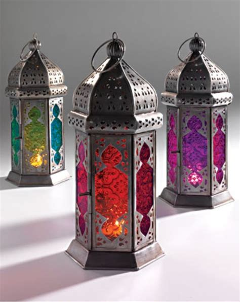 Diy Home Decor Indian Style by Large Moroccan Style Lantern Tea Light Candle Holder Teal