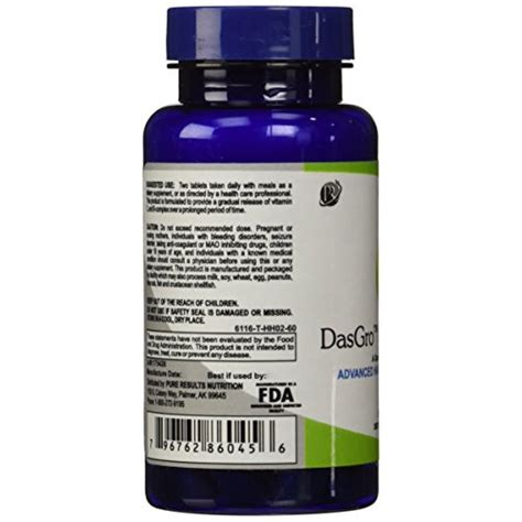 ingredients for dasgro hair supplements buy dasgro hair growth vitamins with biotin and dht