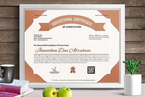free educational certificate templates 30 experience certificate templates free word pdf psd