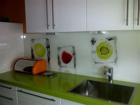 Glaswand Küche Spritzschutz by K 252 Chenr 252 Ckwand Glas Ikea Rheumri