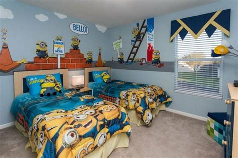 Yellow Minion Bedroom 25 Interior Designs Inspired By Minions Messagenote