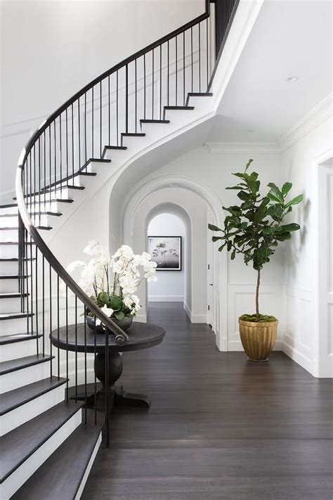 Staircase Ideas Near Entrance 25 Best Ideas About Curved Staircase On Pinterest Grand Staircase Grand Entryway And