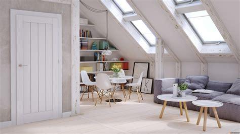 Kleine Dachgeschosswohnung Einrichten by Wohnung Einrichten Wohnideen F 252 R Zimmer Mit Dachschr 228 Ge