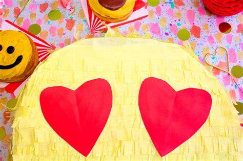 valentines day pinata diy s day emoji pi 241 ata gift box