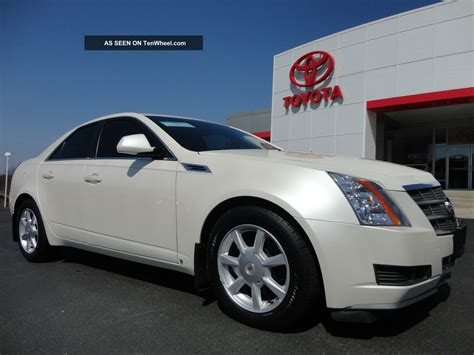 Cadillac Pearl White Paint by 2009 Cadillac Cts 4 Awd White Tri Coat Paint