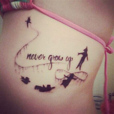 tattoo infinity quotes peter pan quotes tattoos www imgkid com the image kid