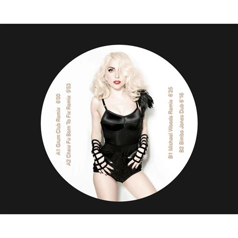 Gaga And Target Part Ways by Born This Way Part 2 Picture Disc Gaga 12 45回転