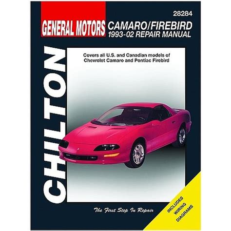free auto repair manuals 1968 chevrolet camaro electronic toll collection 93 1998 camaro and firebird chilton manual northern auto parts