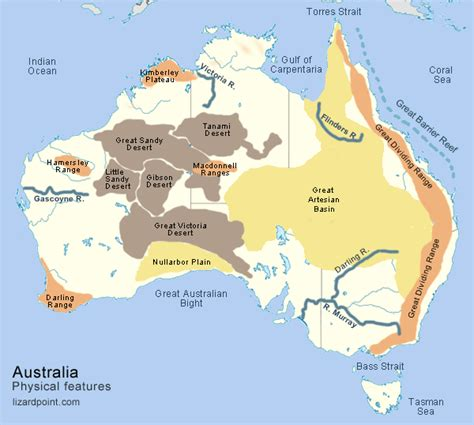 australian desert map great desert map pictures to pin on