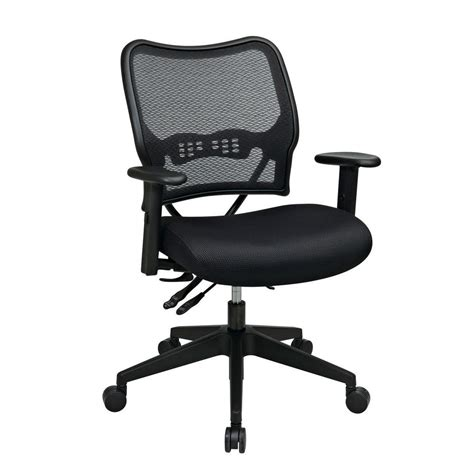 Office Chairs Home Depot Office Deluxe Black Airgrid Back Office Chair 13