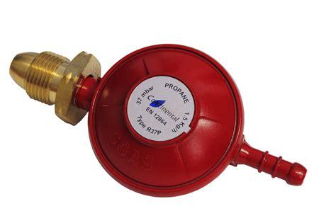 37mbar propane standard regulator 1 metre hose