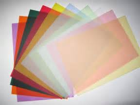 colored vellum paper vellum coloured translucent tracing paper x 20 a4 100gsm