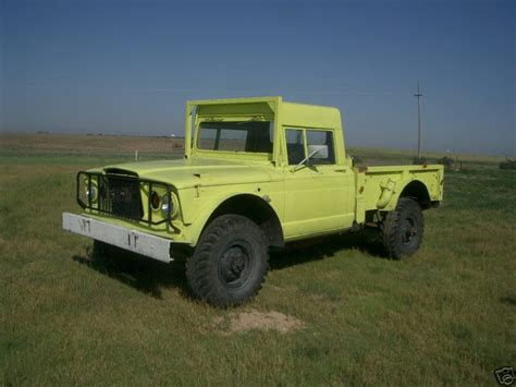 homemade 4x4 truck 1967 m715 kaiser jeep vin10496 dodge city