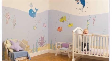 decoracion pared bebes decoracion paredes habitaciones de bebes hoy lowcost