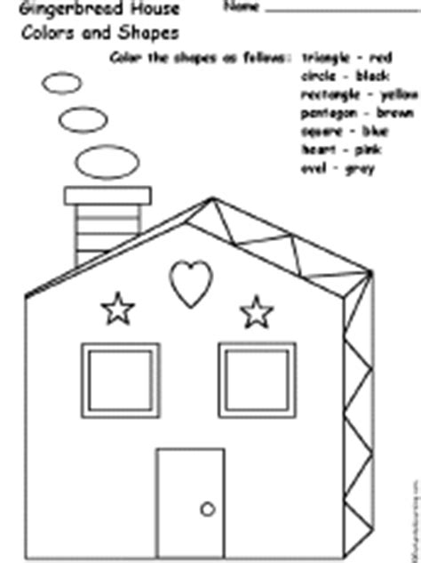 learn colors and shapes color the house house made of shapes at enchantedlearning com