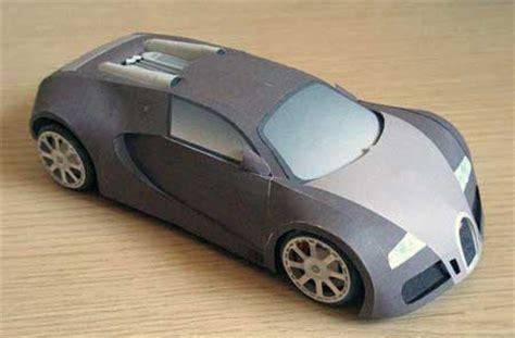Bugatti Veyron Papercraft - bugatti veyron papercraft free papercrafts paper models