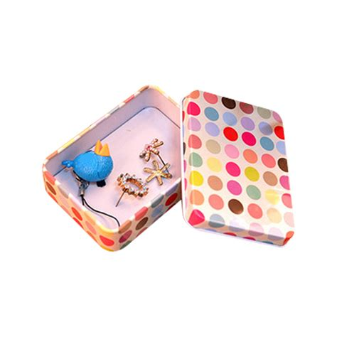 Gift Card Tin Box - multi style storage bag gift card pill case iron tin mini