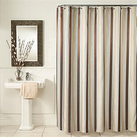 m m shower curtain m style hudson stripe shower curtain bed bath beyond