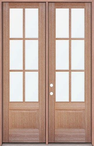 Patio Doors Clearance 8 0 Quot 6 Lite Mahogany Prehung Wood Door Patio Unit Door Clearance Center 1348