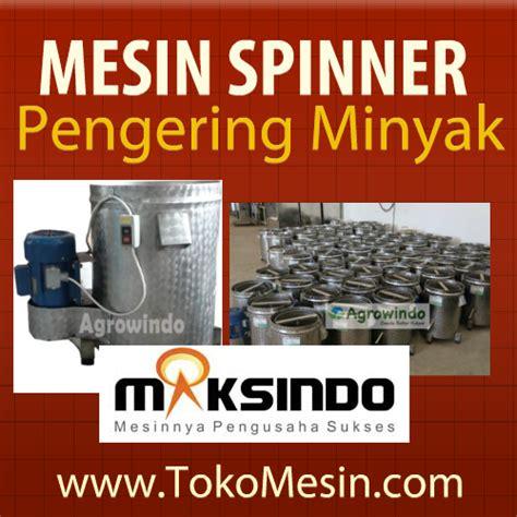 Spinner Besar Mesin Peniris Pengering Minyak Goreng Elektrik Kerupuk mesin pertanian modern agrowindo