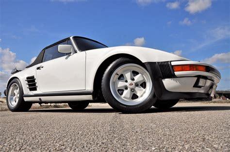 porsche slant 1987 porsche 911 930 turbo cabriolet slant nose carrera
