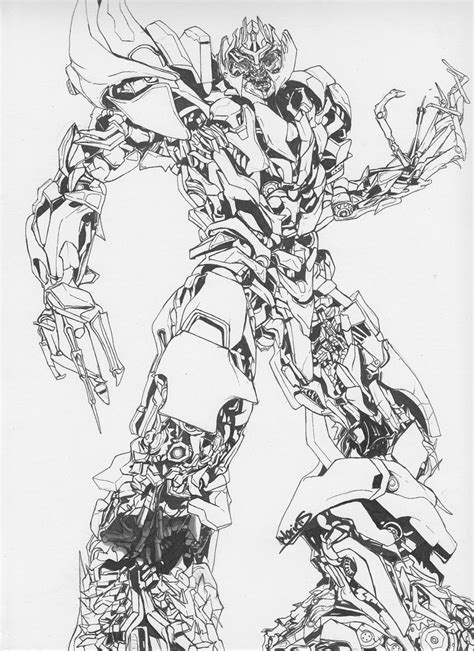 transformers movie coloring page megatron coloring page coloring home