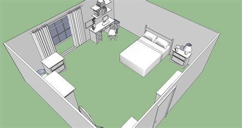 Design My Bedroom mayday s bedroom 1 sketchup by spidertour02 on deviantart