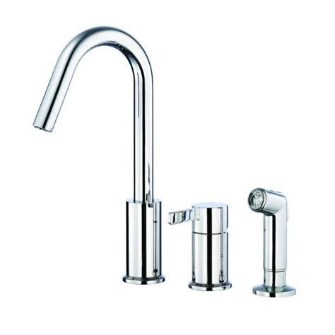 kitchen faucets danze shop danze amalfi chrome 1 handle high arc kitchen faucet