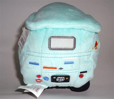 Plush Vans by Disney Store Cars 2 Fillmore Hippy Plush Stuffed Car