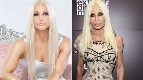 Donatella Versace Tells Clinton To Take by 16 Plastic Surgery That Destroyed Their Faces