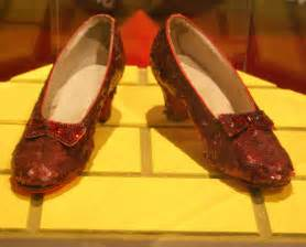 wizard of oz shoes wizardofbaum ruby slippers of the wizard of oz the