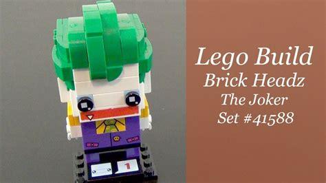 Lego 41588 Brick Headz The Joker let s build lego brick headz the joker set 41588