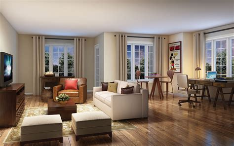 Renaissance Living Room by Home Of The Month The Wyndham At Centretown